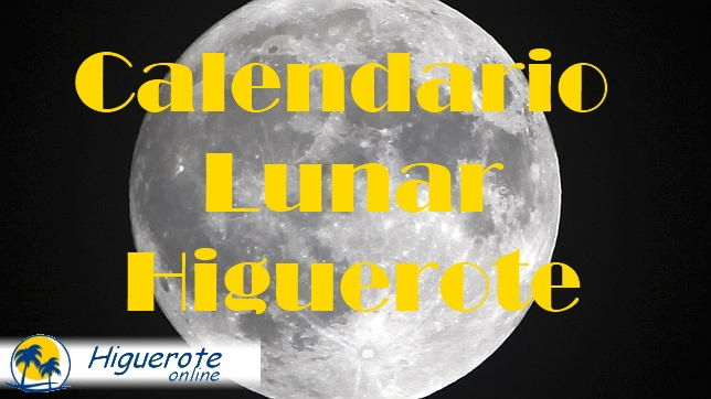 Calendario Lunar para Higuerote.