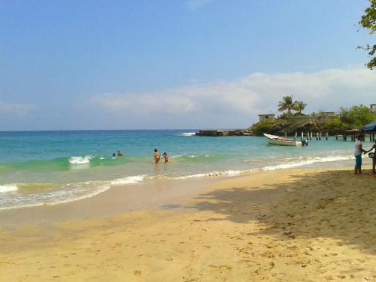 Playa Caracolito.Info+mapa.Higuerote.Barlovento
