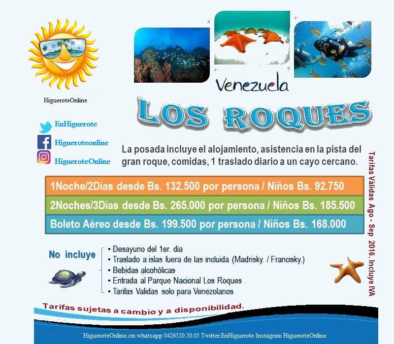 Promoción Isla Los Roques