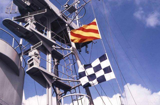 Las Banderas o Señales Marítimas en la navegaciòn