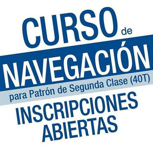 Curso de Navegación para Patrón Deportivo de 2 da Clase 40 T