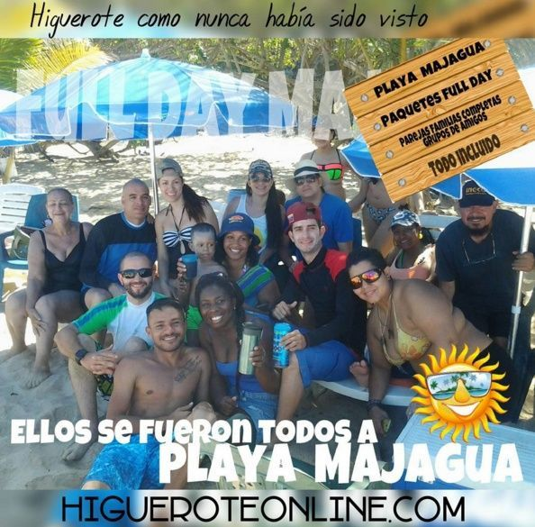 Playa Majagua Full Day en Playa Majagua en Higuerote